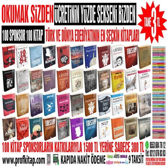 100 SPONSOR 100 KİTAP