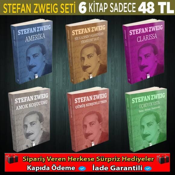 6 Kitaptan Oluşan Stefan Zweig 2. Seti