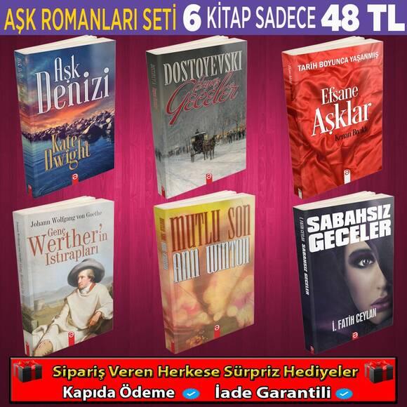 Aşk Romanları Seti 6 Kitap