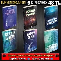 Bilim Ve Teknoloji Seti 6 Kitap - Thumbnail