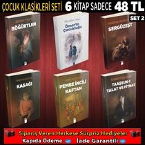 Çocuk Klasikleri 6 Kitap - Thumbnail