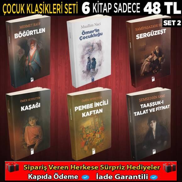 Çocuk Klasikleri 6 Kitap