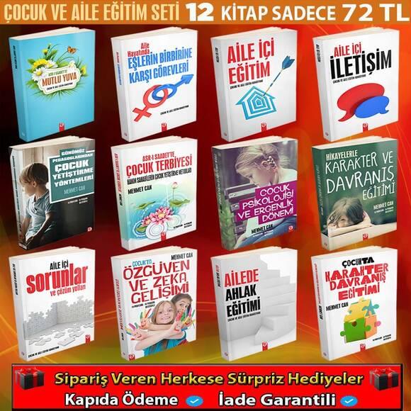 Çocuk Ve Aile Eğitim Seti 12 Kitap