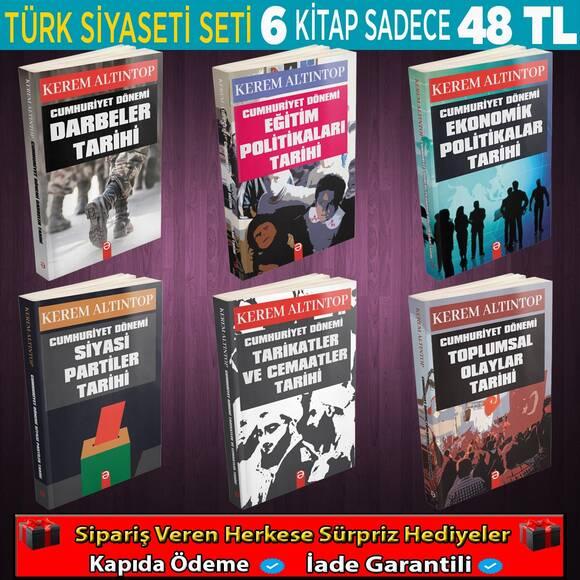 6 Kitaplık Cumhuriyet Dönemi Seti
