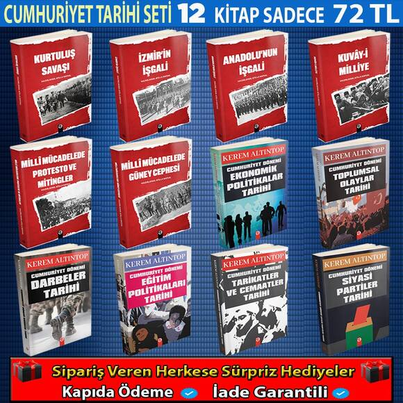 Cumhuriyet Tarihi Anlatan En İyi 12 Kitap