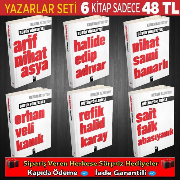 Cumhuriyet Dönemi Yazar Seti 6 Kitap(Set 3)