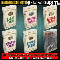 İSLAMA KOMANDANLIK EDEN DEVLETLER 6 KİTAP - Thumbnail