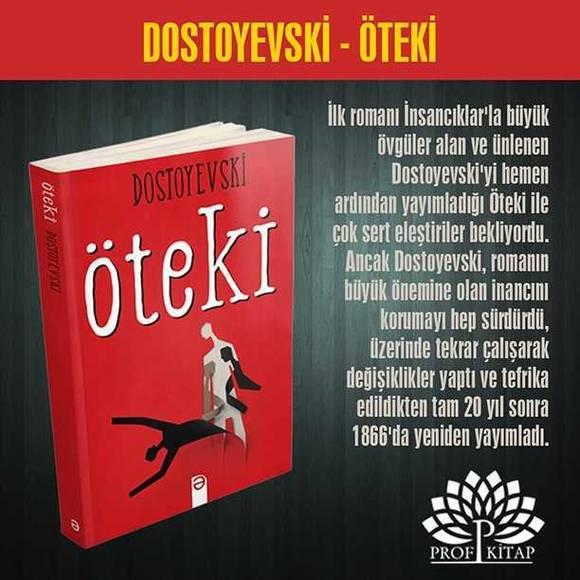 Dostoyevski'nin En iyi 6 Kitabı