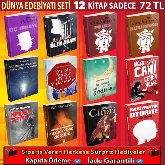 Dünya Edebiyatı Seti 12 Kitap