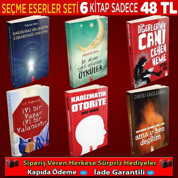 Dünya Edebiyatından 6 Kitaplık Set