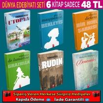 Dünya Klasiklerinden Seçme En İyi 6 Kitaplık Set (Set 2) - Thumbnail