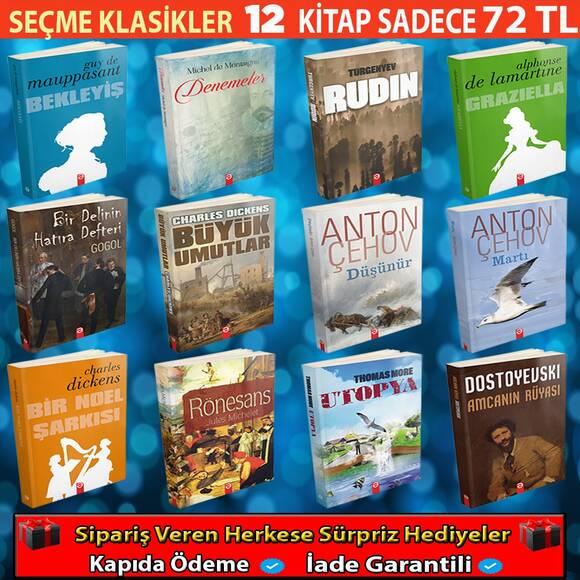 Dünya Klasiklerinden Seçme Eserler 12 Kitap