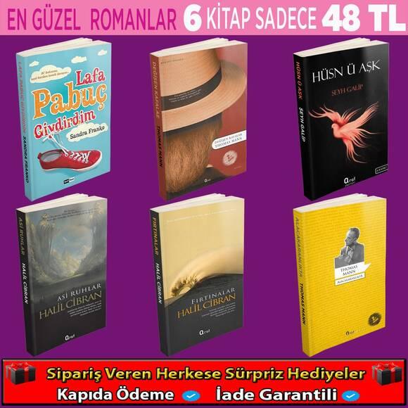 En Güzel Romanlar 6 Kitap