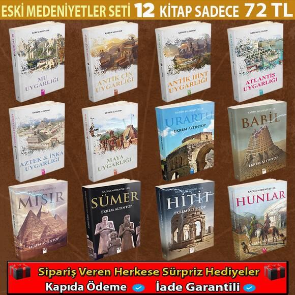 Eski Medeniyetler serisi 12 Kitap