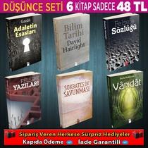 Felsefe Seti 6 Kitap - Thumbnail