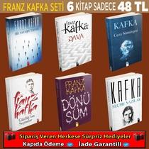 Franz Kafka 6 Kitaplık Eşsiz Bir Set - Thumbnail