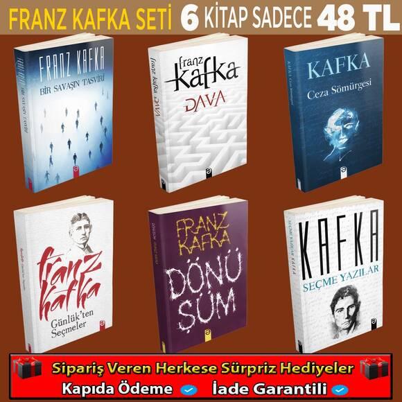 Franz Kafka 6 Kitaplık Eşsiz Bir Set