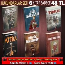 Hükümdarlar Seti 6 Kitap - Thumbnail