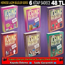 İlginç Bilgiler Seti 6 Kitap - Thumbnail