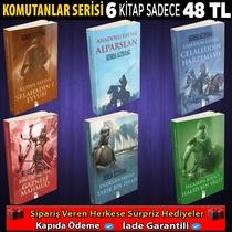 Komutanlar Serisi 6 Kitap - Thumbnail