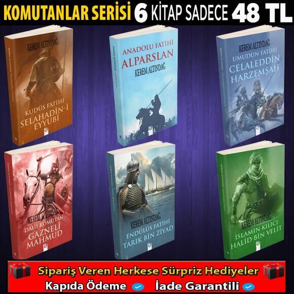 Komutanlar Serisi 6 Kitap
