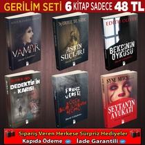 Korku Ve Gerilim Seti 6 Kitap (Set 4) - Thumbnail