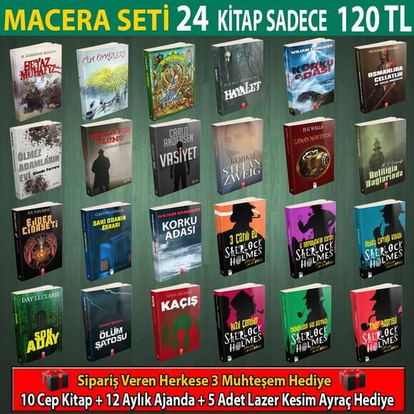 Macera Seti 24 Kitap
