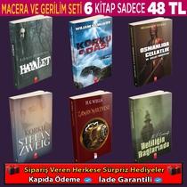 Macera Ve Gerilim Romanları (2.Set) - Thumbnail