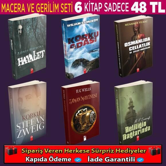 Macera Ve Gerilim Romanları (2.Set)