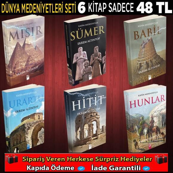 Dünya Medeniyet Seti 6 Kitap