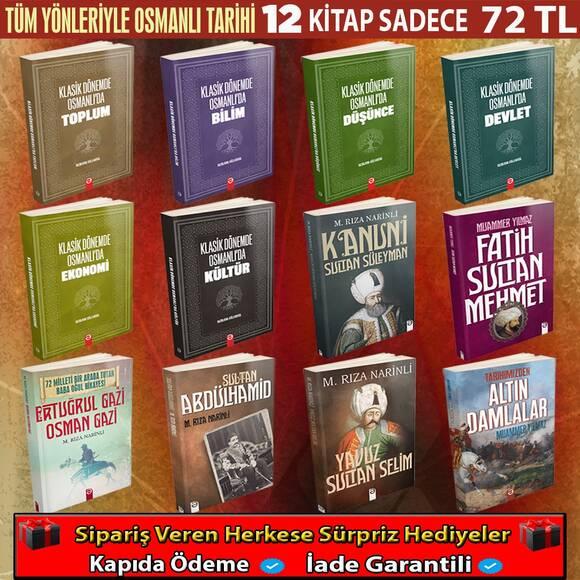 Osmanlı Tarihini Anlama Seti 12 Kitap