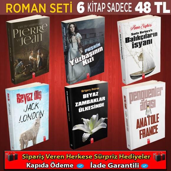 Roman Seti 6 Kitap