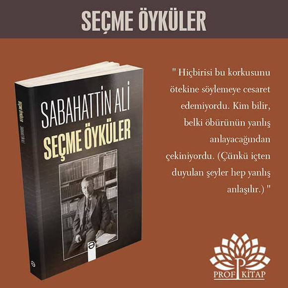 Sabahattin Ali Seti 6 Kitap