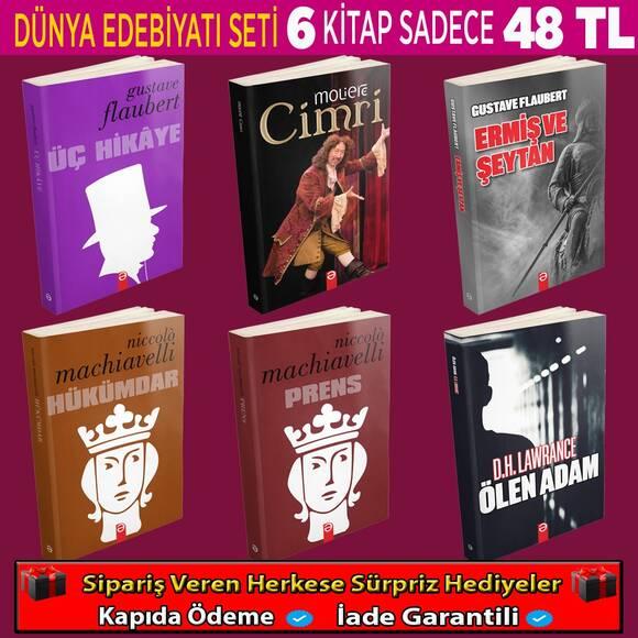 Dünya Klasiklerinden Seçme En İyi 6 Kitaplık Set (Set 3)