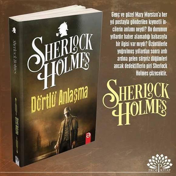 Sherlock Holmes 6 Kitaplık Set 1