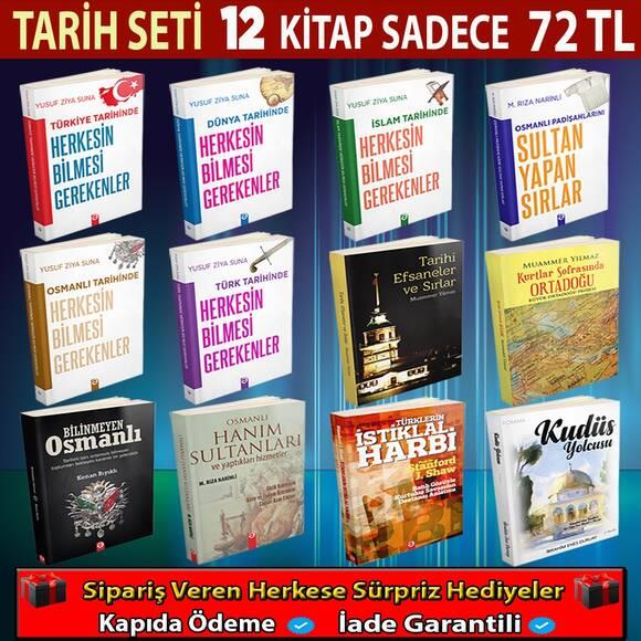 Tarih İle İlgili 12 Kitap Muhteşem Kitap