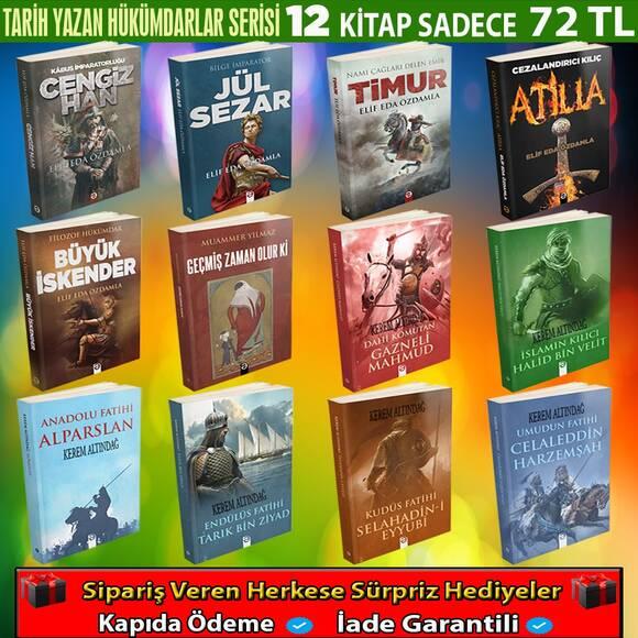 Tarih Yazan Hükümdarlar Serisi 12 Kitap