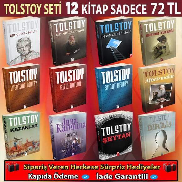 Tolstoy'un En Çok Okunan 12 Kitabı