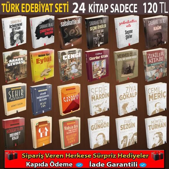 Türk Edebiyat Seti 24 Kitap