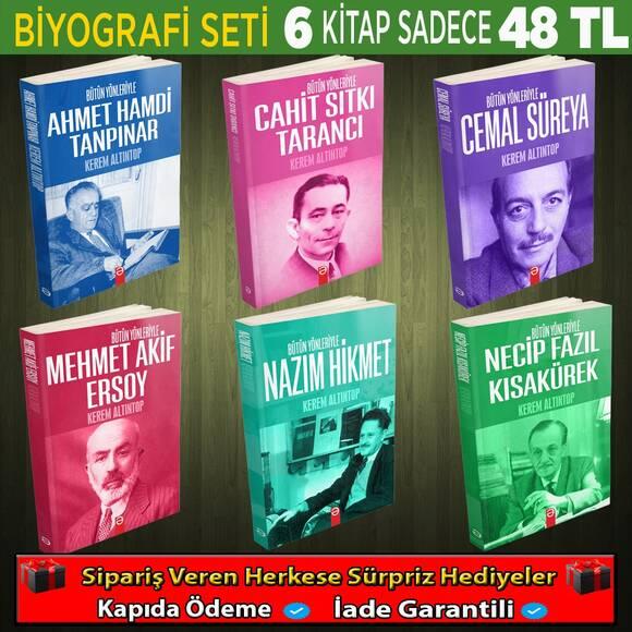 Türk Edebiyatına Öncülük Eden 6 Yazarın 6 Kitabı (Set 1)