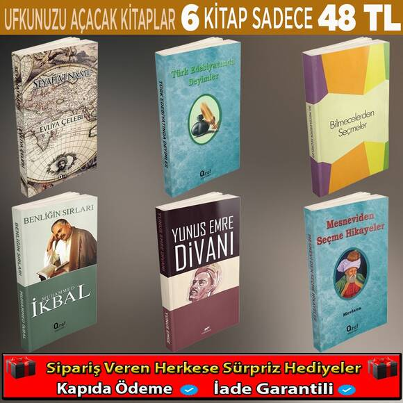 Ufkunuzu Açacak Kitaplar 6 Kitap